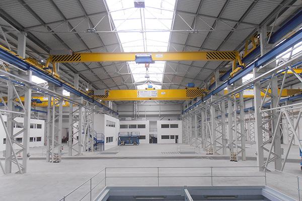 Výrobní hala ARMATURY Group a.s. Dolní Benešov