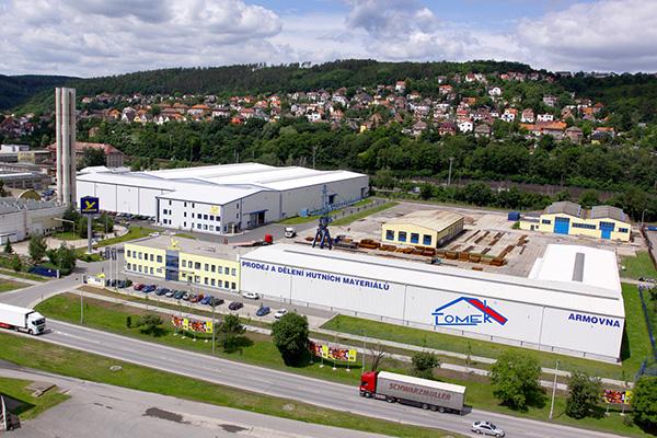 Centrální sklad společnosti KONDOR, s.r.o.